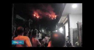 Cháy rừng ở Quy Nhơn hàng trăm người tháo chạy